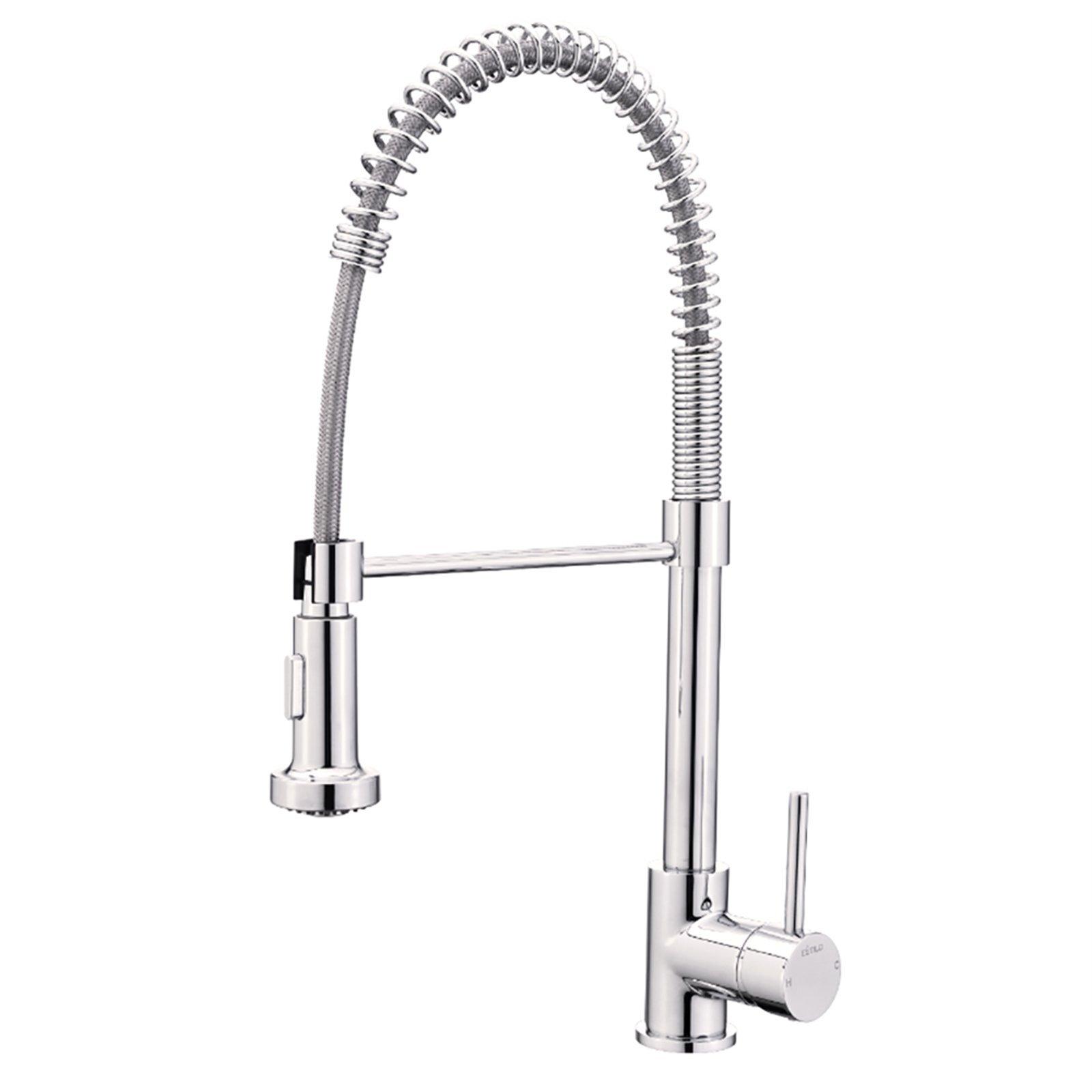 Estilo Chrome Tall Vege Spray Coil Sink Mixer