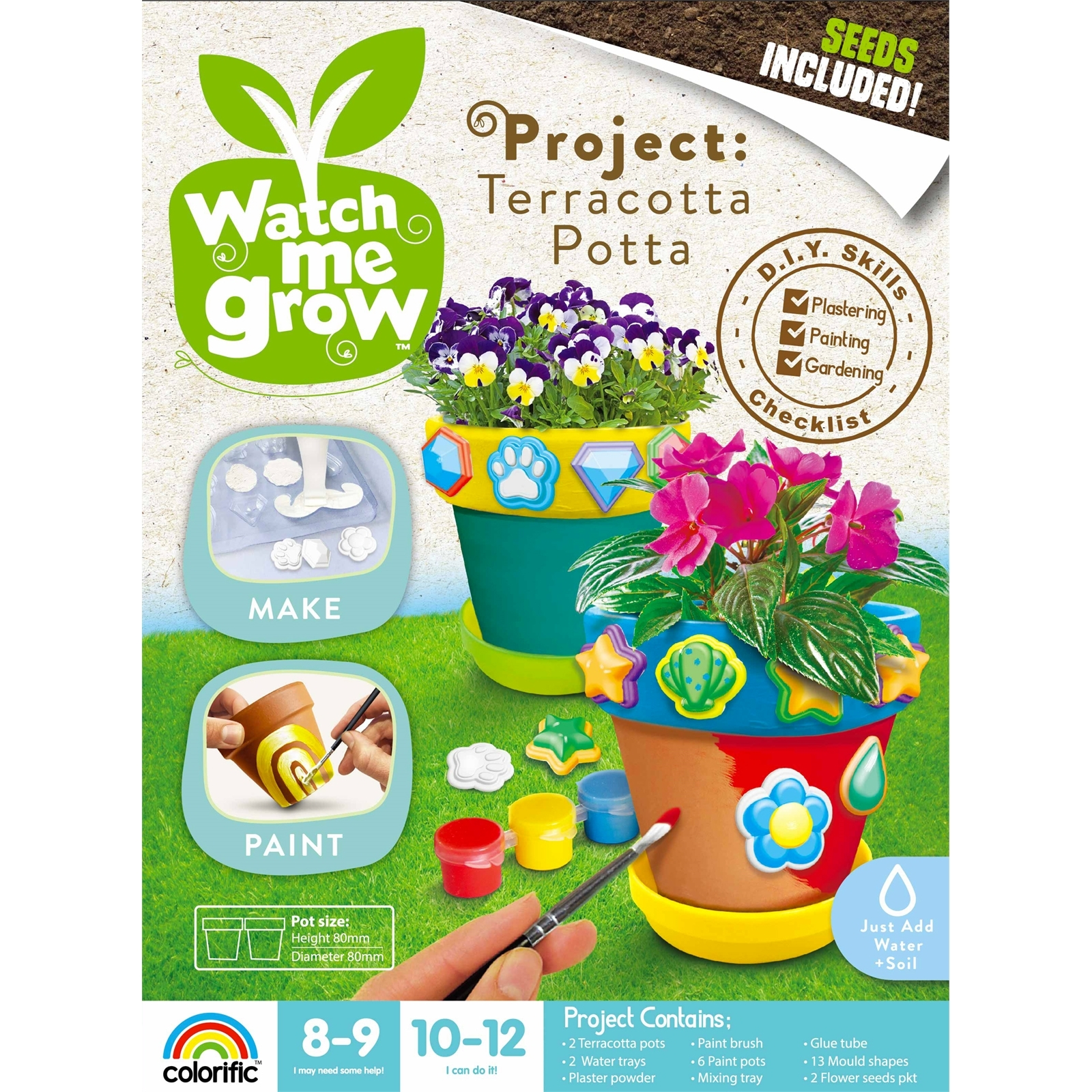 Watch Me Grow Terracotta Potta