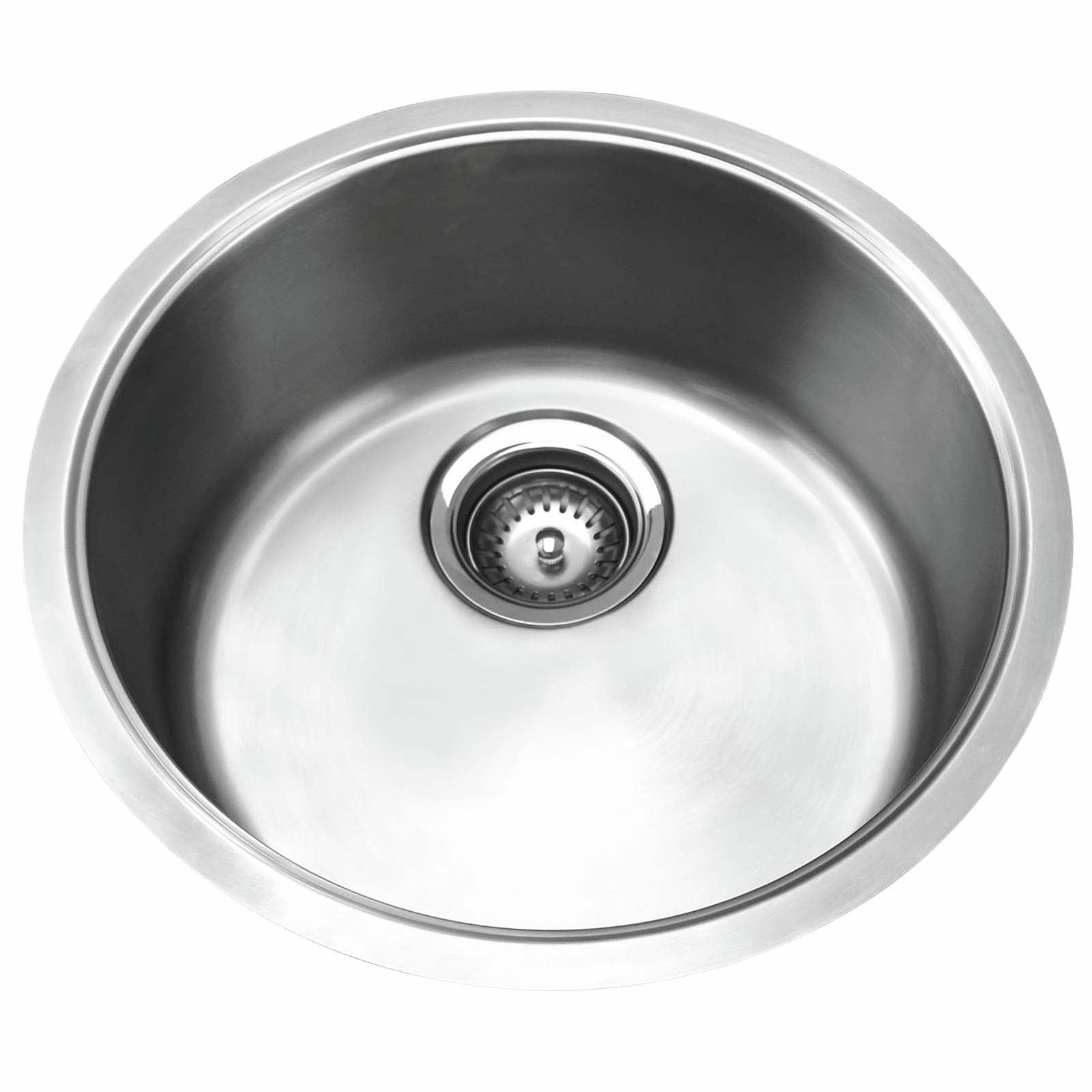 Mondella Resonance Single Bowl Round Stainless Steel Sink