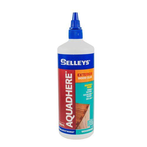 Selleys 500mL Aquadhere PVA Wood Glue Exterior Adhesive