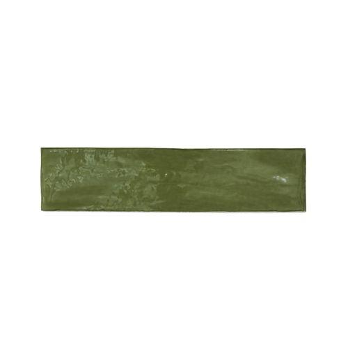 Decor8 300 x 75mm Olive Devonshire Ceramic Wall Tiles - 22 Pack