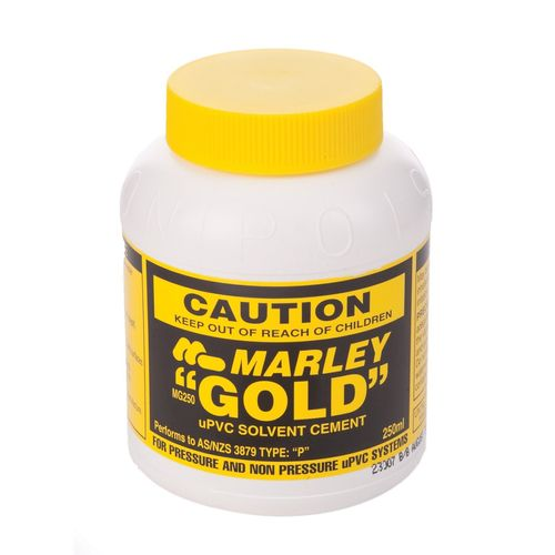 Marley 250ml Gold Solvent Cement