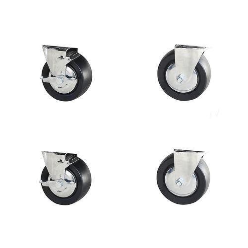 Tactix Castor Wheels - 4 Pack