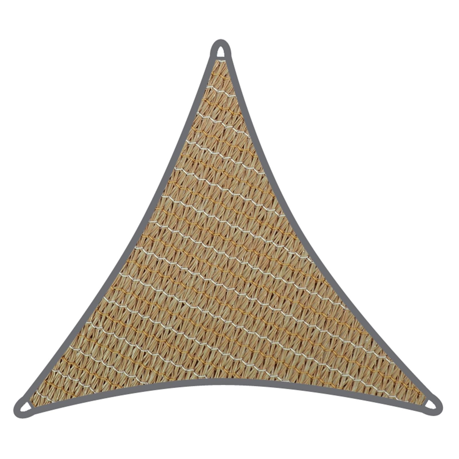 Coolaroo 3m Beech Triangle Commercial Grade Shade Sail