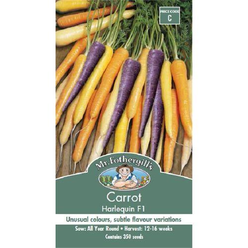 Mr Fothergill's Carrot Harlequin Seeds