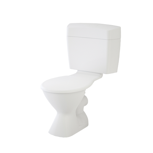 Caroma WELS 3 Star, 6L/Min Uniset II Connector P Trap Toilet Suite