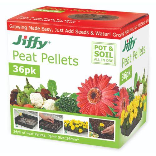 Mr Fothergill's 36mm Jiffy Peat Pellets - 36 Pack