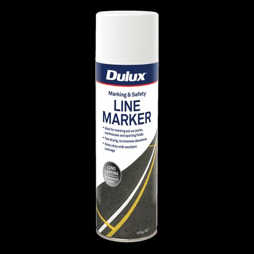 Dulux 500g White Paint Line Marker