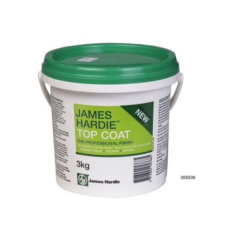 James Hardie 3kg Top Coat Pail