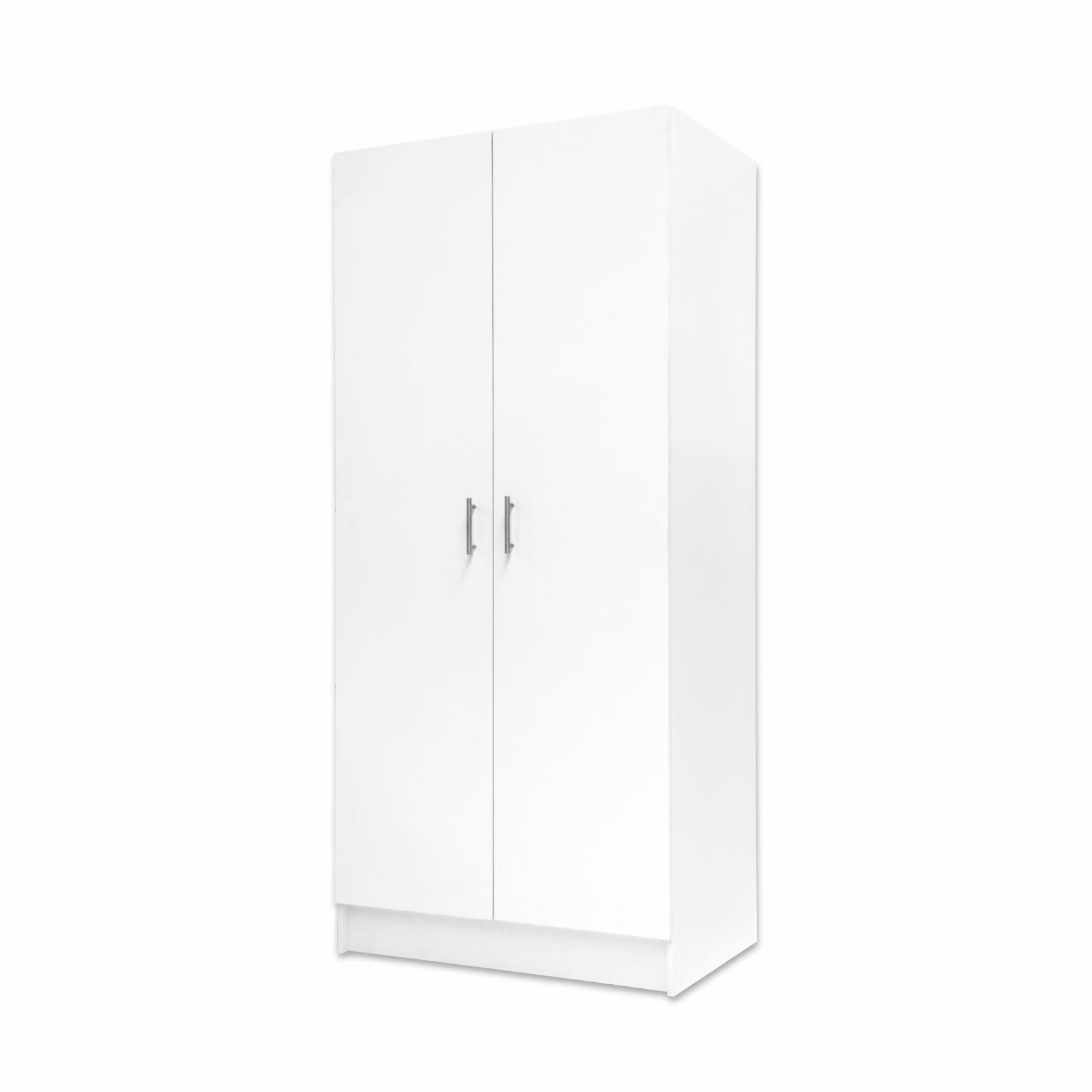 Bedford 900mm White 2 Door Tall High Moisture Resistant Split Cabinet