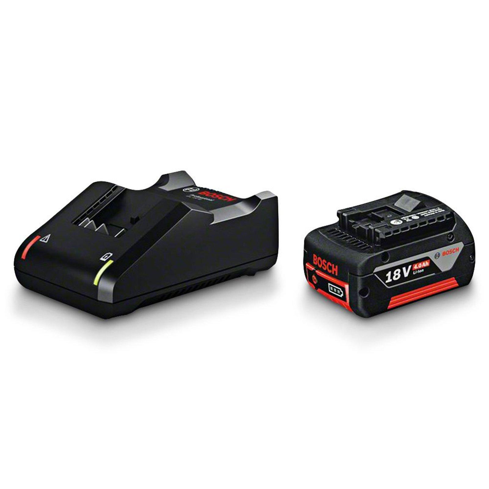 Bosch Blue 18V 4.0AH Battery And Charger Starter Kit