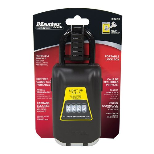 Master Lock Light-Up Portable Key Safe
