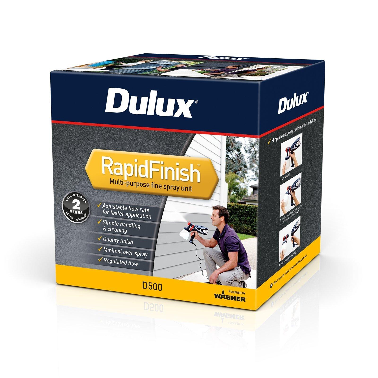 Dulux RapidFinish Paint Spray Gun