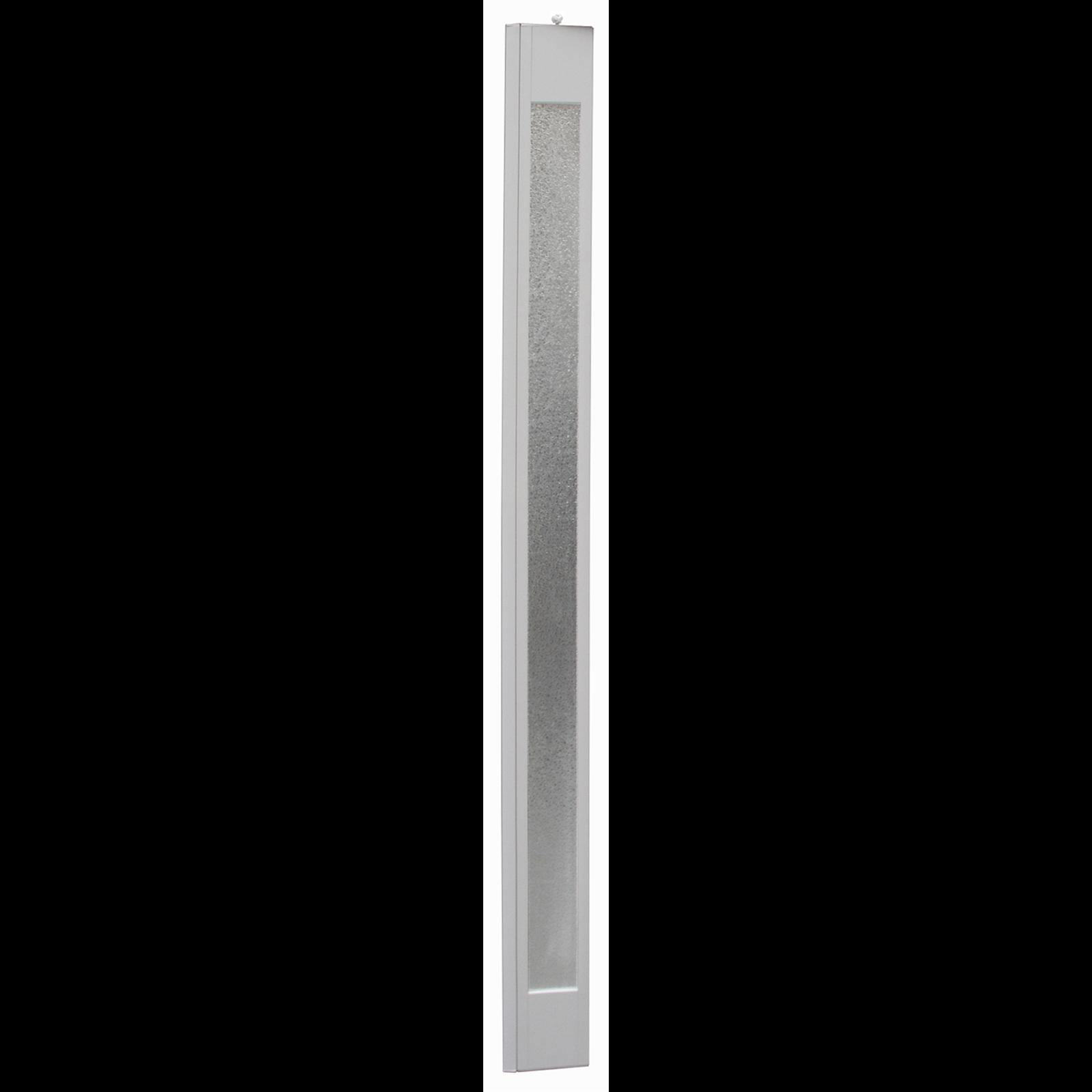 Pillar Products 15 x 203cm White PVC Platinum Concertina Door Panel