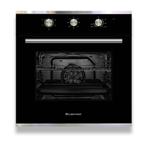 Kleenmaid 60cm Stainless Steel And Black Multifunction Oven