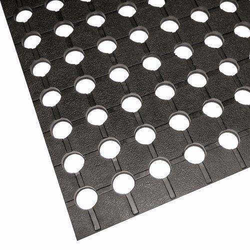 Matpro 1.2 x 1.8m Black Rubber Matting