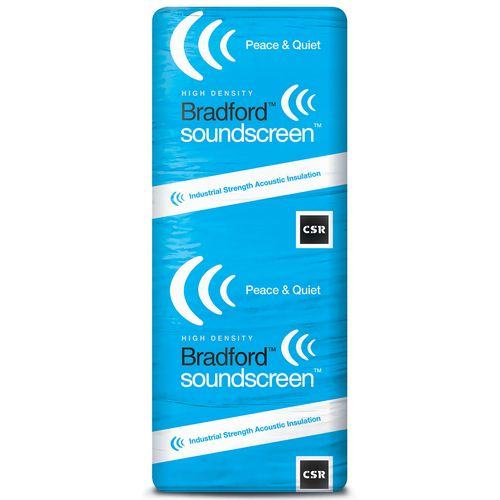 Bradford R1.7 1160 x 430 x 60mm 5.5m2 SoundScreen Insulation - 11 Pack