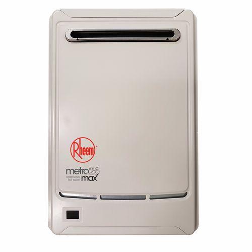 Rheem 26L 50° LPG Continuous Flow Hot Water Unit