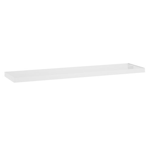 Flexi Storage 600 x 190 x 24mm White Gloss Style Shelf