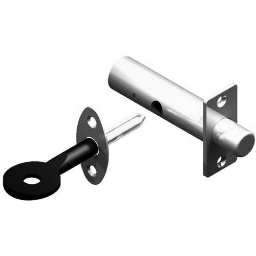 Yale Polished Brass Doorbolt with Spline Key