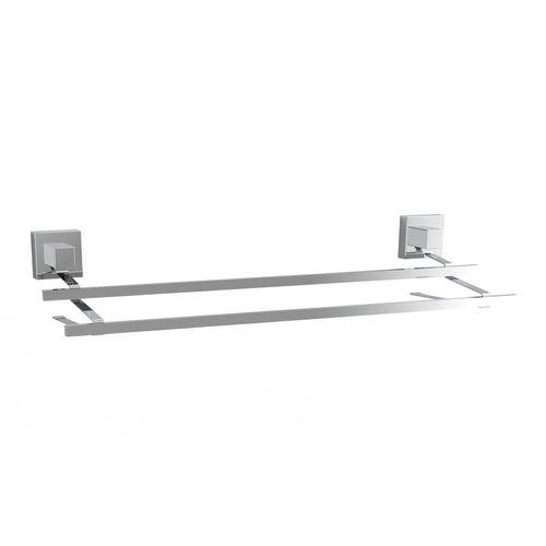 Fusion-Loc 60cm 26kg Stainless Steel Double Towel Rail