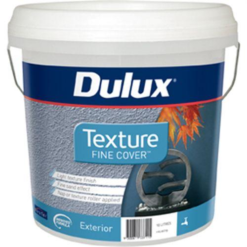 Dulux 10L Fine Texture Exterior Paint
