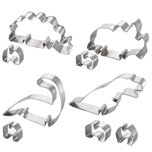 Soffritto Professional Bake 3D Cookie Cutters Dinosaur