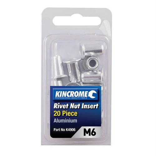 Kincrome M6 20 Piece Rivnut Insert Set