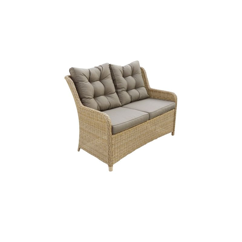 Corsica 2 Seater Lounge Chair