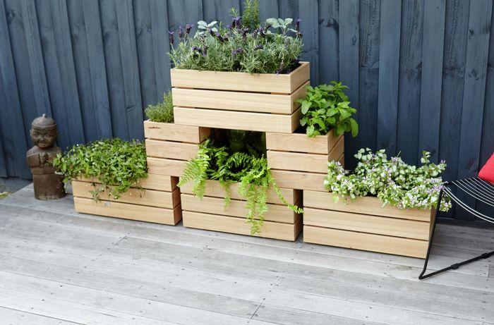 DIY Step Image - D.I.Y. stackable wooden planters . Blob storage upload.