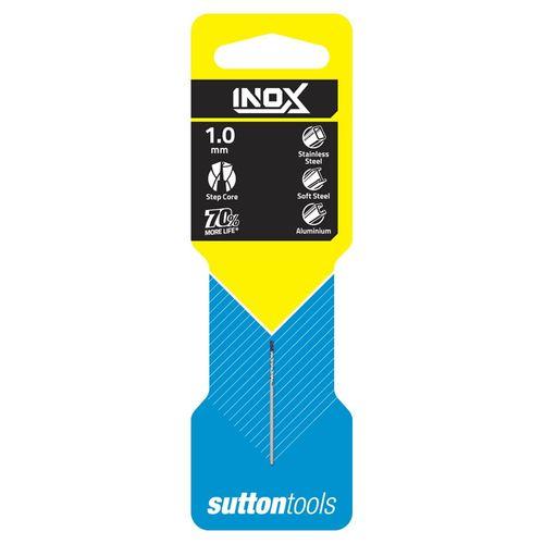 Sutton Tools 1.0mm INOX Stainless Steel Jobber Drill Bit