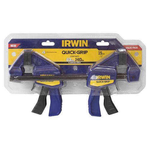 Irwin 150mm 4 Piece Set Quick-Grip Mini Bar Clamp