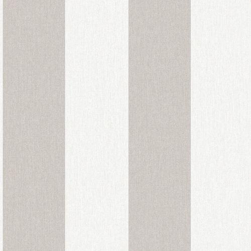 Superfresco Easy 52cm Natural Calico Stripe Wallpaper - Natural Calico Stripe ½m