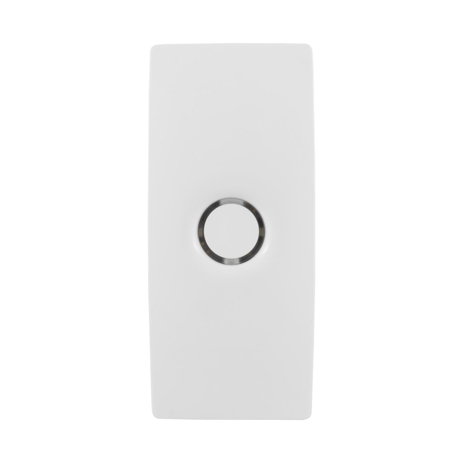 Gainsborough White Freestyle Wi-Fi Bridge And Door Sensor Kit