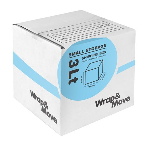 Wrap & Move 150 x 150 x 150mm 3L Small Mail Box