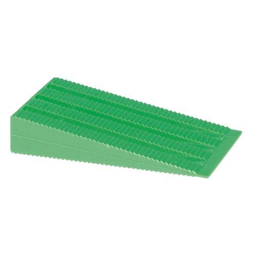 Builders Edge 15mm Green Builders Wedge - 25 Pack
