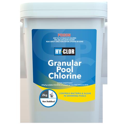Hy-Clor 2kg Granular Pool Chlorine