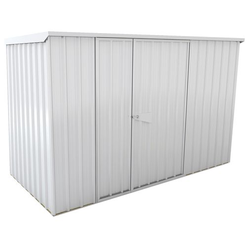 Duratuf Sentry 3.0 x 1.5m Zinc Lean-To Shed