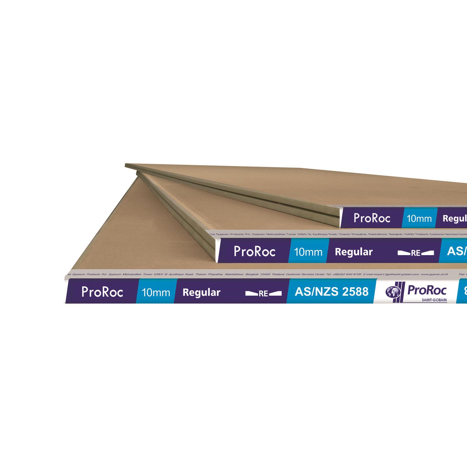 Proroc 10 x 2400mm Standard Plasterboard