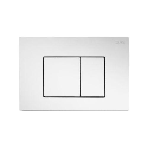 Zumi Chrome Finish Square ABS Flush Plate