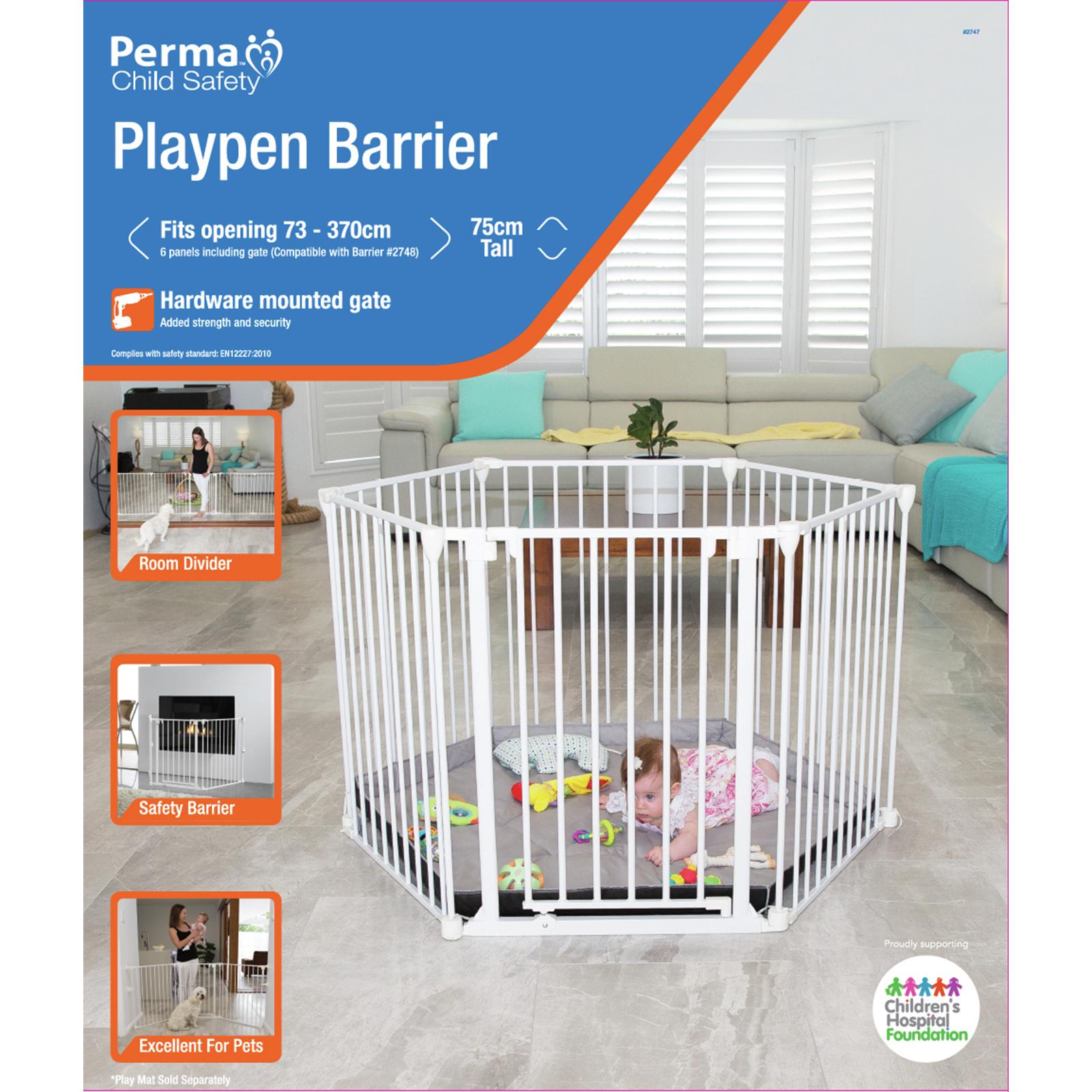 Perma Child Safety Playpen Barrier