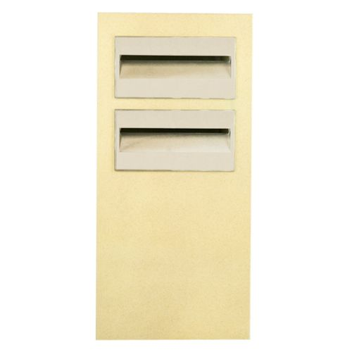 Letterbox Pillar Polytek Duplex L1053key