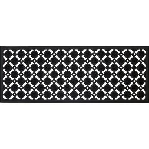 Bayliss 45 x 120cm Black Orion Rubber Outdoor Mat
