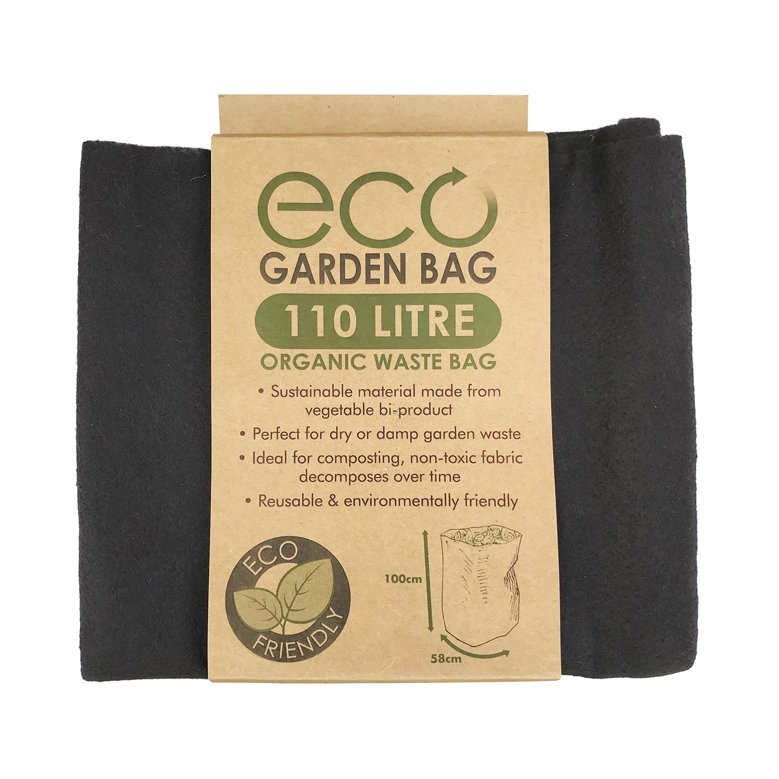 Pillar Products 580 x 1000mm 110L Eco Garden Bag