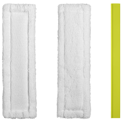 Ryobi Window Vacuum Microfibre Pads & Wiper Blade Replacement Kit