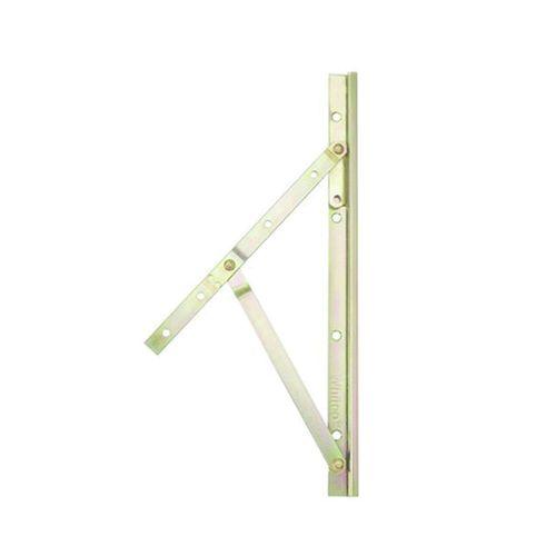 Whitco 400mm Standard Friction Steel Silver Window Stay