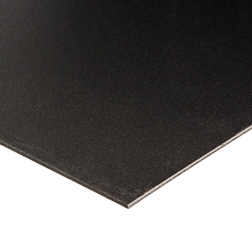 1200 x 900 x 3mm Black PVC Foam Board Sheet
