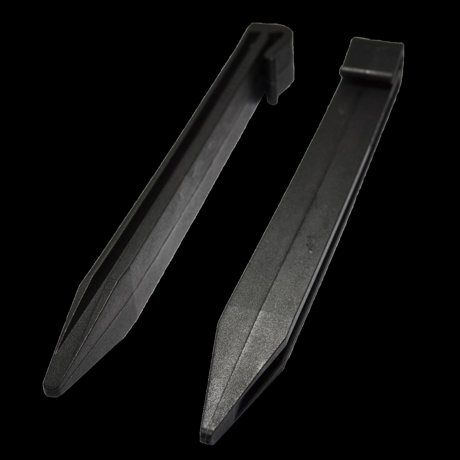 Icon Plastics 280 x 25mm Black Garden Edge Multi Peg