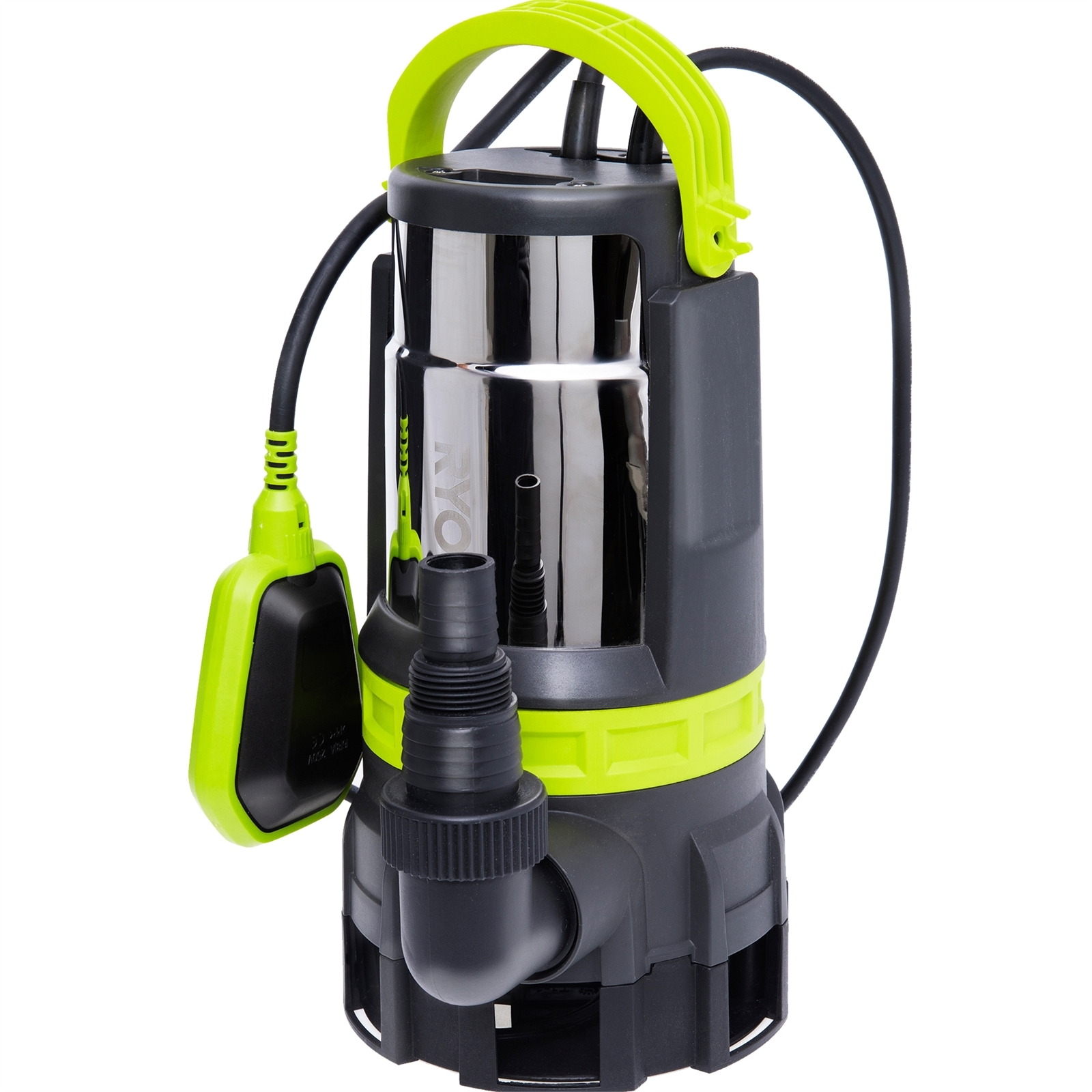 Ryobi 750W Clean and Dirty Water Submersible Pump
