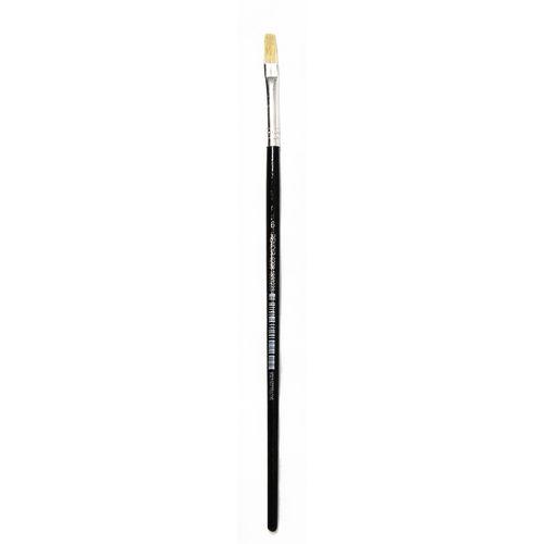 Renoir Hog Hair Flat Craft Paint Brush - Size 6